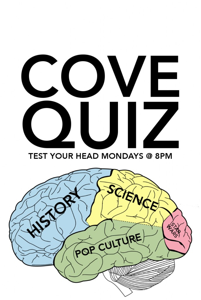 Cove Quiz Monday